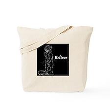 Believe Cherub (dark) Tote Bag