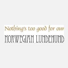 OUR Norwegian Lundehund 42x14 Wall Peel
