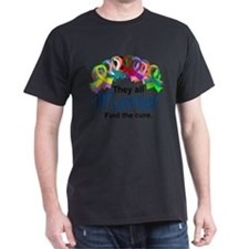 D All Ribbons 7 T-Shirt