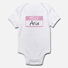 Hello, My Name is Aria - Infant Bodysuit