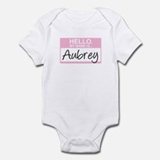 Hello, My Name is Aubrey - Onesie