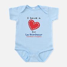 I have a Heart for Le Bonheur - Infant Bodysuit