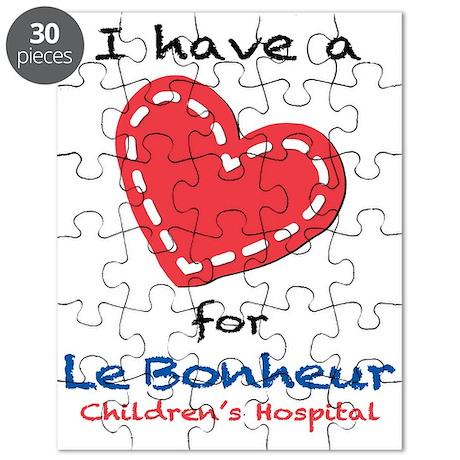 I have a Heart for Le Bonheur - Puzzle