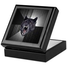 Insanity Wolf Keepsake Box