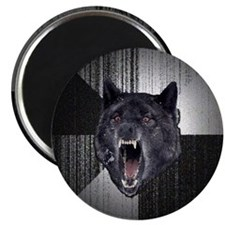 """Insanity Wolf 2.25"""" Magnet (10 pack)"""