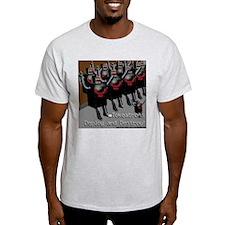 Skagnetti Tokeatron Ash Grey T-Shirt