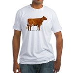 Shorthorn Cow Fitted T-Shirt