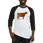 Shorthorn Cow Baseball Jersey