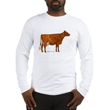 Shorthorn Cow Long Sleeve T-Shirt