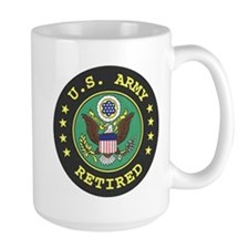 ArmyRetiredSeal Mugs