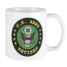 Army Retired Coffee Cup