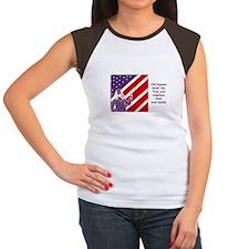 """Old Hippies Never Die"" Women's Cap Sleeve T-Shirt"