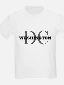 Washington thru DC Kids T-Shirt