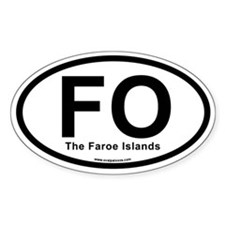 FO - The Faroe Islands Decal