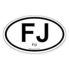 FJ - Fiji Decal