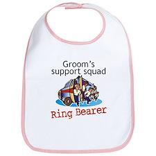 Grooms Squad Ring Bearer Bib