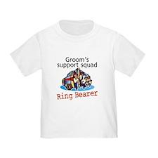 Grooms Squad Ring Bearer T
