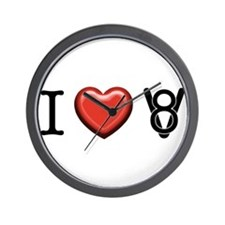 I love V8 Wall Clock