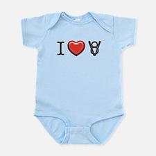 I love V8 Infant Bodysuit