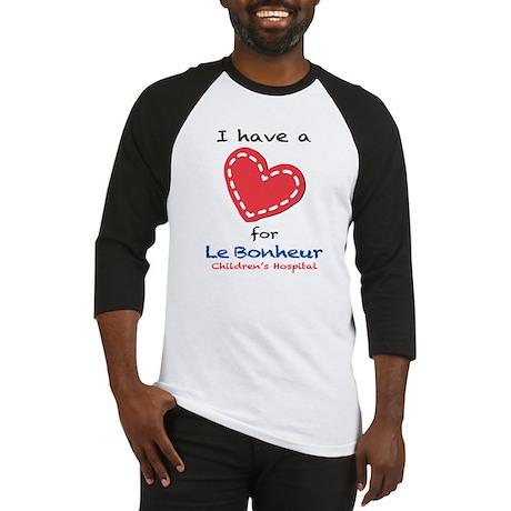 I have a Heart for Le Bonheur - Baseball Jersey
