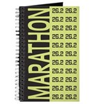 26.2 Marathon BLACK LIME Journal