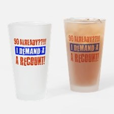 90th birthday design Drinking Glass