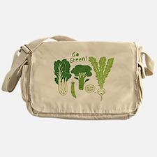 Go Green! (Leafy Green!) Messenger Bag