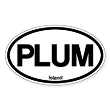 Plum Island Decal