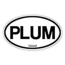 Plum Island Decal
