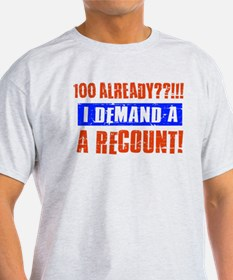 100th birthday design T-Shirt