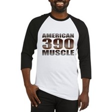 American Muscle 390 Ford Baseball Jersey