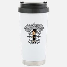 Funny Black sheep Travel Mug