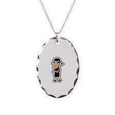 Cute Black sheep Necklace
