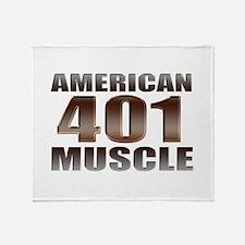 American Muscle Buick 401 Nai Throw Blanket