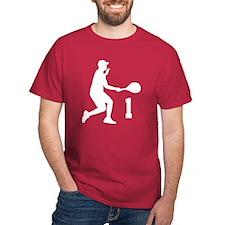 Tennis Uniform Number 1 Player T-Shirt