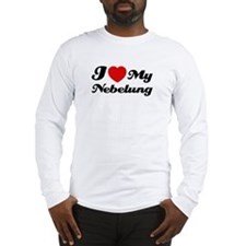 I love my Nebelung Long Sleeve T-Shirt