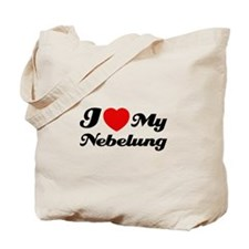 I love my Nebelung Tote Bag