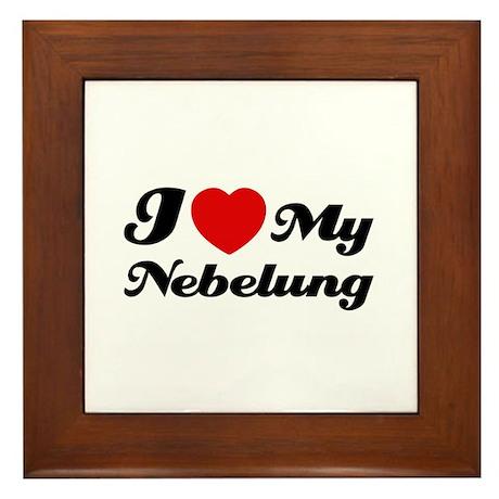 I love my Nebelung Framed Tile
