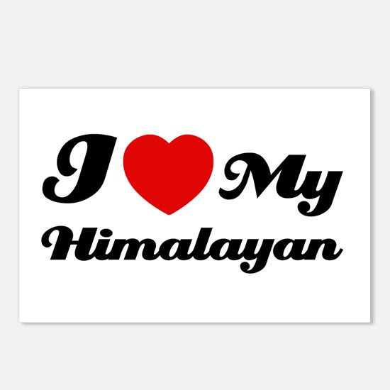 I love my Himalayan Postcards (Package of 8)