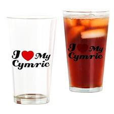 I love my Cymric Drinking Glass