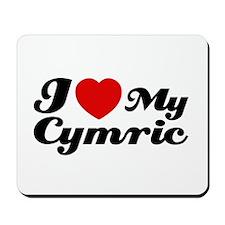 I love my Cymric Mousepad
