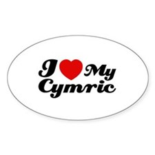 I love my Cymric Decal