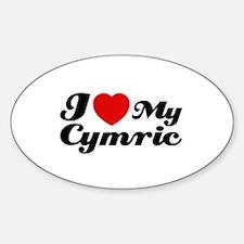 I love my Cymric Decal