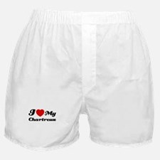 I love my Chartreux Boxer Shorts