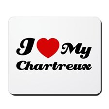 I love my Chartreux Mousepad
