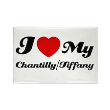I love my Chantilly/Tiffany Rectangle Magnet