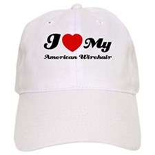 I love my American wirehair Baseball Cap