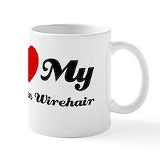 I love my American wirehair Mug