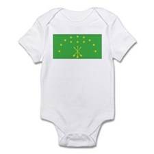 Adygea Flag Infant Bodysuit