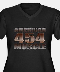 American Muscle big block 454 Women's Plus Size V-